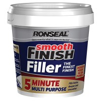 Ronseal 5 Minute Multi Purpose Smooth Finish Filler Ready Mix - 600ml