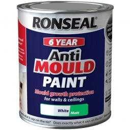 Ronseal 6 Year Anti Mould Paint White
