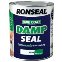 Ronseal One Coat Damp Seal White - 2.5 Litre