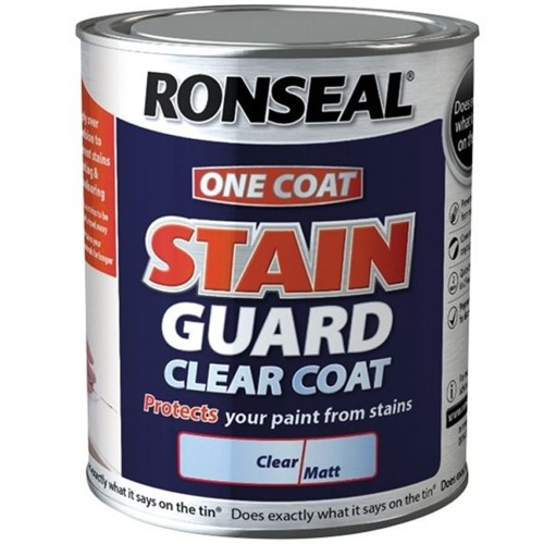 Ronseal One Coat Stain Guard Clear Matt 750ml