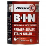 Zinsser BIN Primer Sealer and Stain Killer - 5 Litre