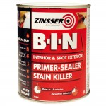 Zinsser BIN Primer Sealer and Stain Killer - 1 Litre