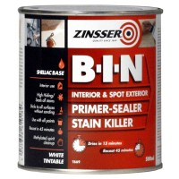 Zinsser BIN Primer Sealer and Stain Killer - 500ml