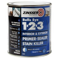 Zinsser Bulls Eye 1-2-3 Primer Sealer Stain Killer - 500ml