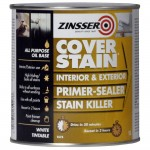 Zinsser Primer Cover Stain Interior and Exterior - 1 Litre