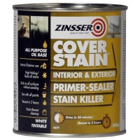 Zinsser Primer Cover Stain Interior and Exterior - 500ml