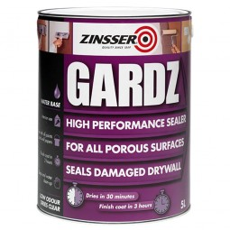 Zinsser Gardz High Performance Sealer Clear - 5 Litre