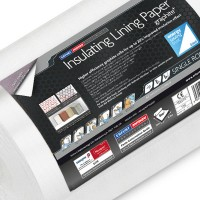 Mav Erfurt Insulating Lining Paper Graphite Plus 10m x 50cm