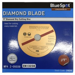 General Purpose Concrete and Stone Diamond Cutting Disc 230mm 9in