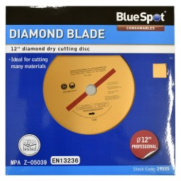 General Purpose Concrete and Stone Diamond Cutting Disc 300mm 12in