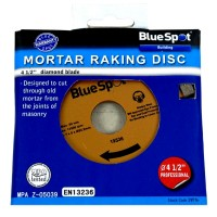 Blue Spot Mortar Raking Disc 4 1/2 inch Diamond Blade
