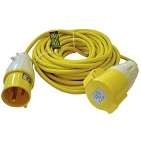 Faithfull Trailing Extension Lead Heavy Duty 110v 32 Amp - 14 Metres