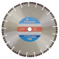 Silverline Laser Welded Turbo Rim Diamond Blade 300mm x 20mm