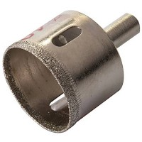 Silverline Diamond Dust Tile Holesaw 40mm