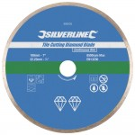 Silverline Tile Cutting Diamond Blade 180mm x 22mm