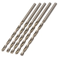 Silverline Metric HSS Long Series Drill Bits 6.5mm x 148mm - 5 Pack