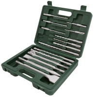 Silverline SDS Plus Drill and Chisel Set - 15 Piece