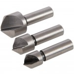Silverline Countersink Set High Speed Steel - 3 Piece