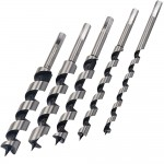 Silverline Wood Auger Bit Set - 5 Piece