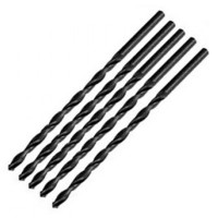 Silverline Metric HSS Long Series Drill Bits 6mm x 139mm - 5 Pack