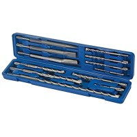 Silverline SDS Plus Drill and Steel Set - 12 Piece