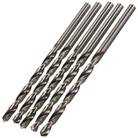 Silverline Metric HSS Long Series Drill Bits 8mm x 165mm - 5 Pack
