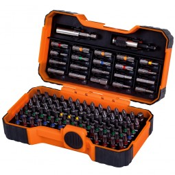 Bahco Driver Bits 100 Piece Set - Slotted Phillips Pozi Hex Robertson Torx