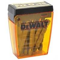 DeWalt PZ2 50mm Screwdriver Drill Driver Bit Box - 15 Pack