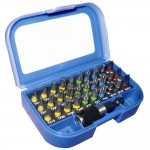 Faithfull Screwdriver Bit Set Quick Release - 31 Piece