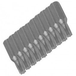 Silverline Torx Driver Bits 25mm T7 - 10 Pack