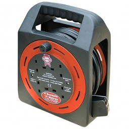 Faithfull Cable Extension East Reel 240V - 15 Metres