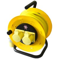 Faithfull Cable Extension Reel 110V - 50 Metres