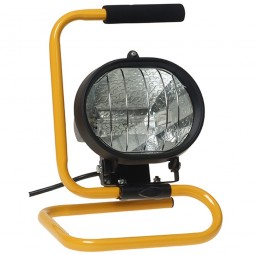 Faithfull Halogen 500W Portable Site and Security Light - 240V