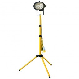 Faithfull Halogen 500W Single Adjustable Site and Security Light 110V