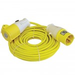 Faithfull Trailing Extension Lead 110v - 14 Metres