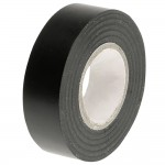 Faithfull PVC Electrical Insulation Tape Black 19mm x 20m