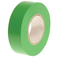 Faithfull PVC Electrical Insulation Tape Green 19mm x 20m