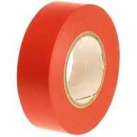 Faithfull PVC Electrical Insulation Tape Red 19mm x 20m