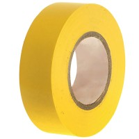 Faithfull PVC Electrical Insulation Tape Yellow 19mm x 20m