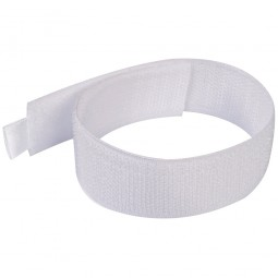 Fixman Hook and Loop Cable Ties White 300mm - 10 Pack