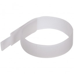 Fixman Hook and Loop Cable Ties White 150mm - 10 Pack