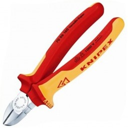 Knipex Diagonal High Leverage Cutting Pliers VDE 160mm