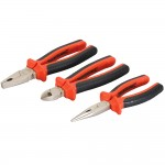 Silverline VDE Plier Set - 3 Piece