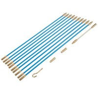 Silverline Cable Access Kit 10 x 330mm