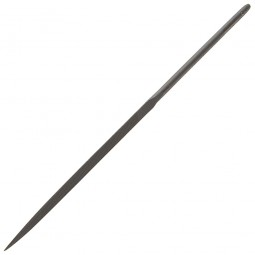 Bahco Three Square Needle File Smooth Cut no Handle - 160mm
