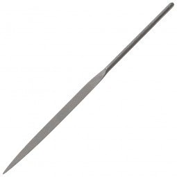 Bahco Half Round Needle File Bastard Cut no Handle - 160mm