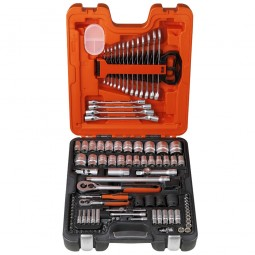 Bahco S106 Socket Set 1/4in and 1/2in Drive - 106 Piece