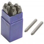 Faithfull Number Stamp Punch Set - 8mm