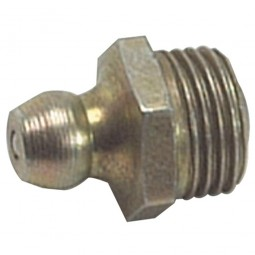 Lumatic HF6 Hydraulic Grease Nipples Straight 3/8in BSF Thread
