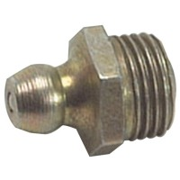 Lumatic HUF4 Hydraulic Grease Nipples Straight 1/4in UNF Thread